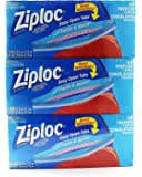 Ziploc Freezer Bags Gallon Mega Pack, (3 x 40ct (Total 120 Count))
