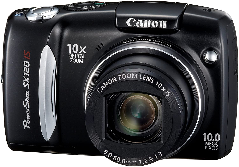 Canon SX120 IS - Cámara Digital Compacta 10 MP - Negro: Amazon.es ...