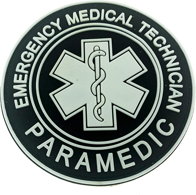 Patch Nation EMT Parche para Equipo médico de Emergencia, Brilla ...