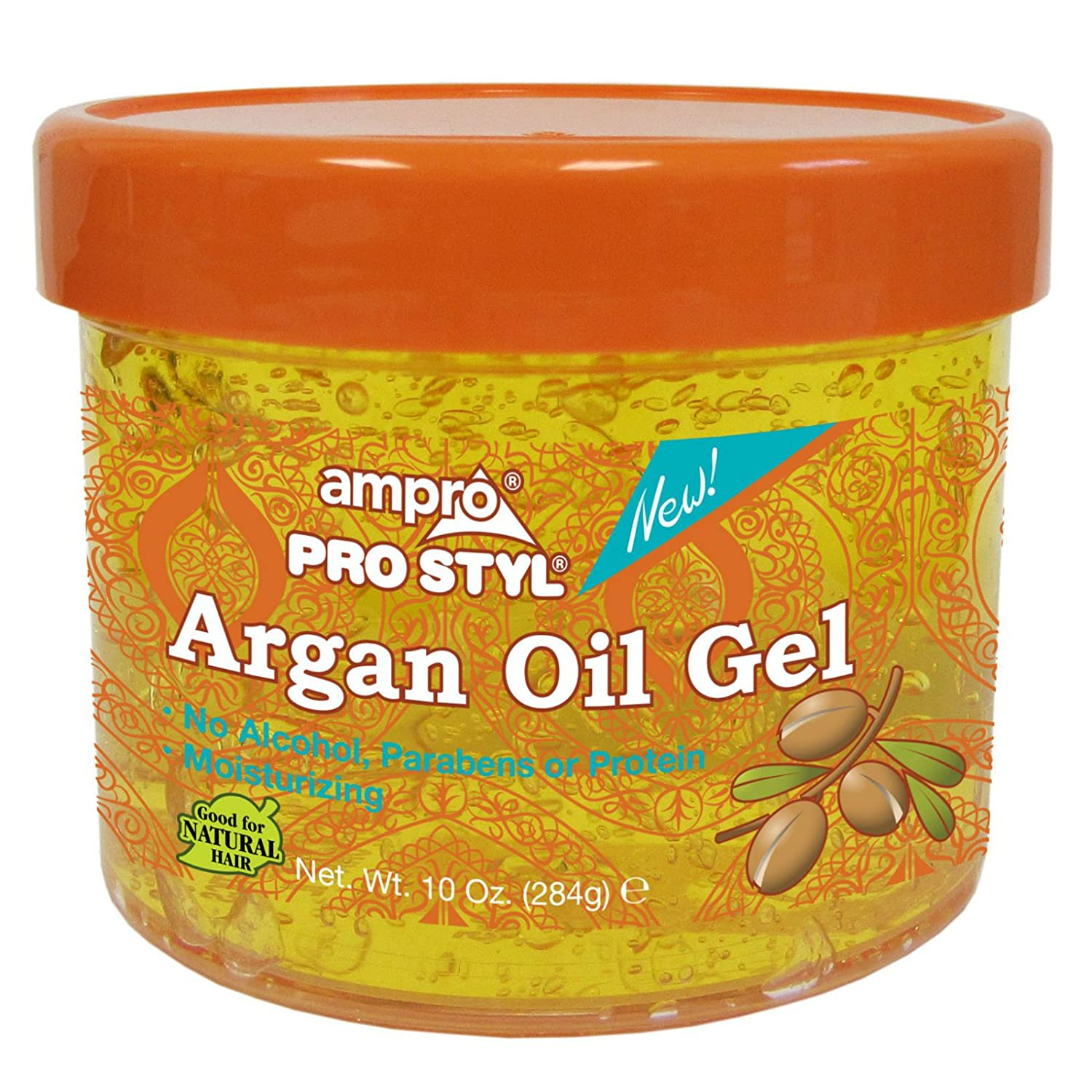 Amazon Com Ampro Pro Styl Argan Oil Gel 10 Oz Beauty