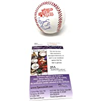 $99 » Daryl Strawberry New York Mets Signed Autograph Official 1986 World Series MLB Baseball 86 WS CHAMPS INSCRIBED JSA Certified