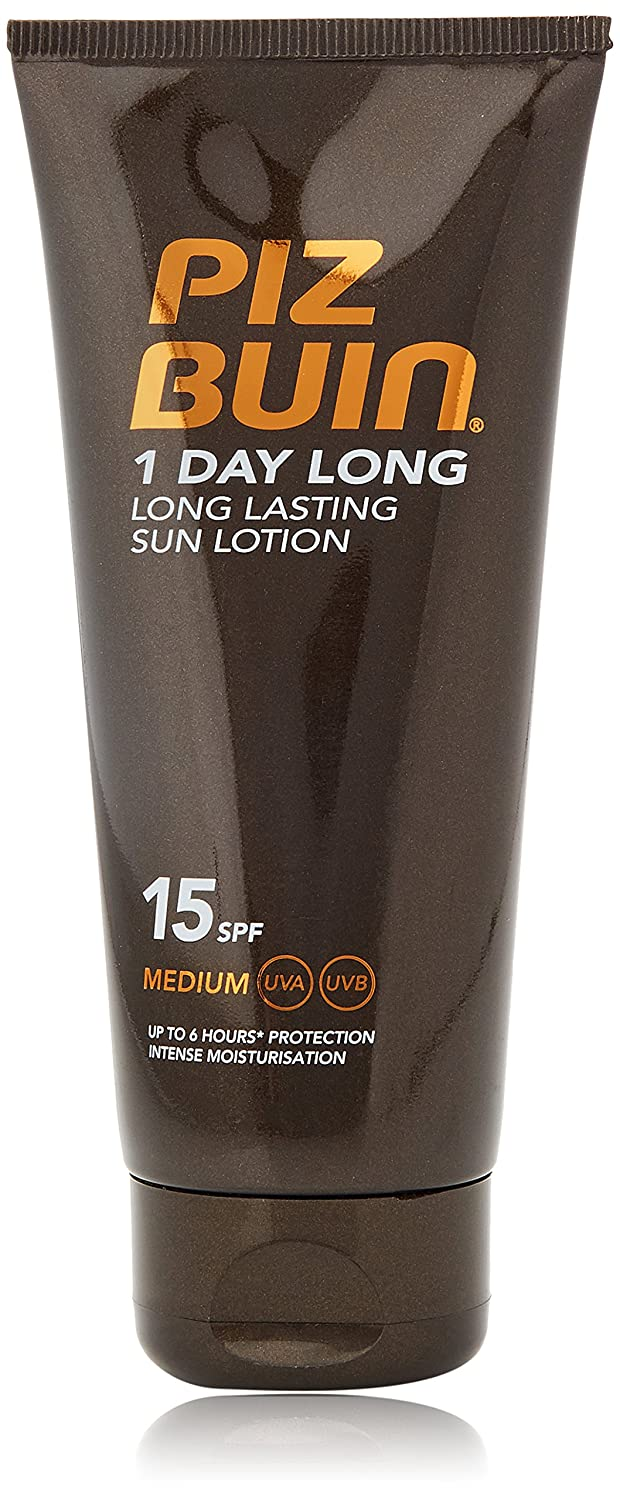 Piz Buin 1 Day Long Lotion SPF 15 Medium 100ml 010896