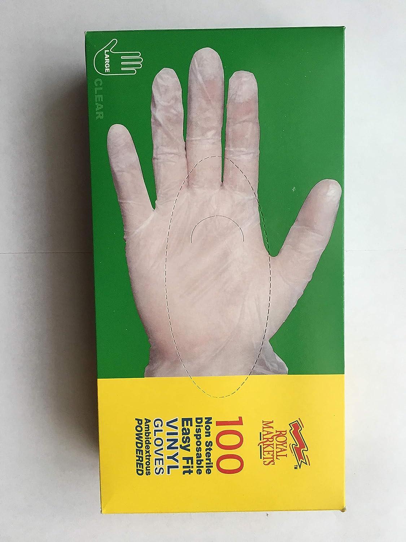 by Aurelia SIZE LARGE Heavy Duty Black Nitrile Disposable Gloves AQL 1.5 Tattooist tattoo mechanic 100 GLOVES