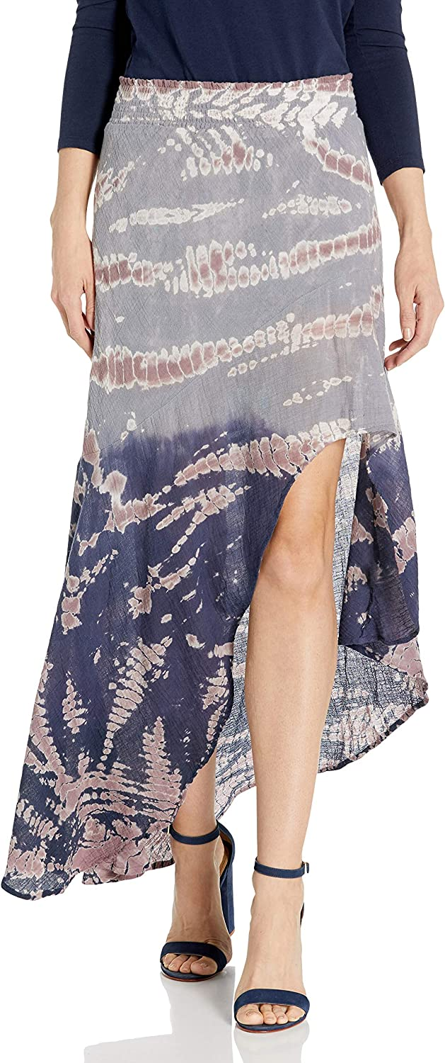 Young Fabulous & Broke Womens Kylie Skirt Skirt Navy/Jaws 4l045