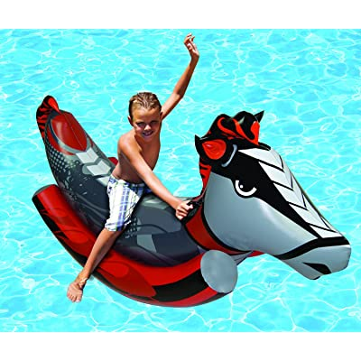 Poolmaster Swimming Pool Rockin' Horse Float Toy, Multicolored: Toys & Games