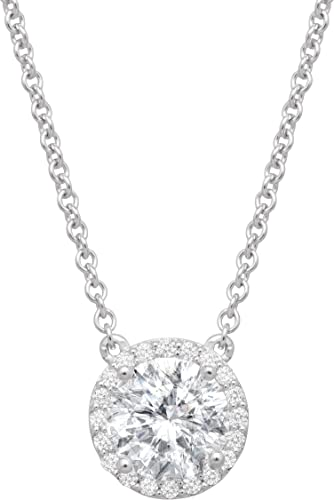 """Silpada /'Duplex Cross/' Layered Horizontal Cross Necklace w// CZ in Silver 16/"""""""
