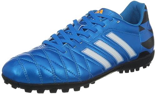adidas Bota 11Questra TRX Turf Solar blue-Blanca 78e2530a8d472