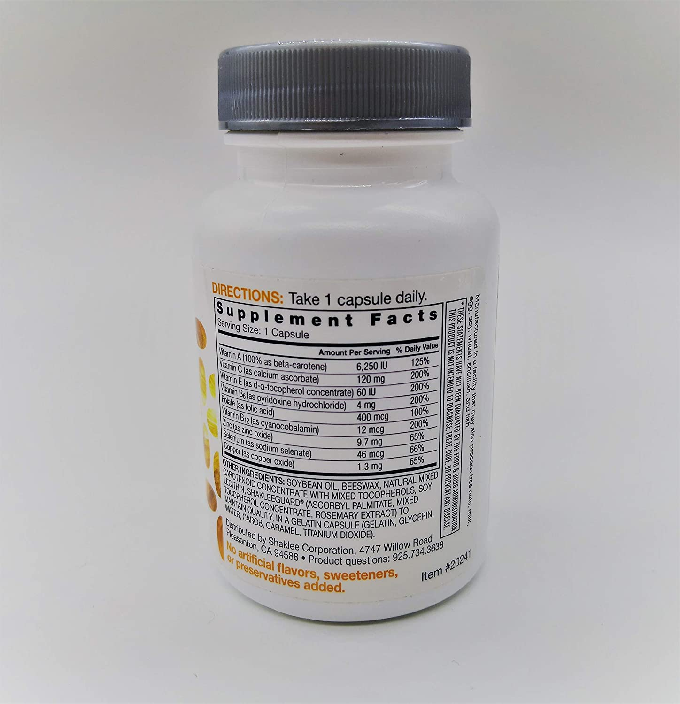 Shaklee Immunity Formula l , 60 Capsules