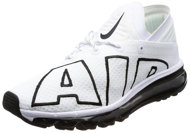 NIKE Men's Air Max Flair Running Shoes B07458XT8C 13 D(M) US|White Black 101