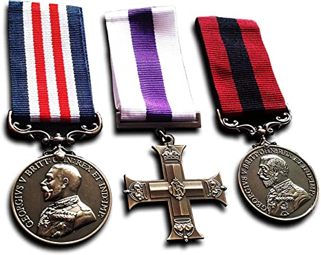 Goldbrothers13 Medallas militares Bravery in the Field Militar Cruz Medalla y Distinguida Conducta Réplica: Amazon.es: Deportes y aire libre