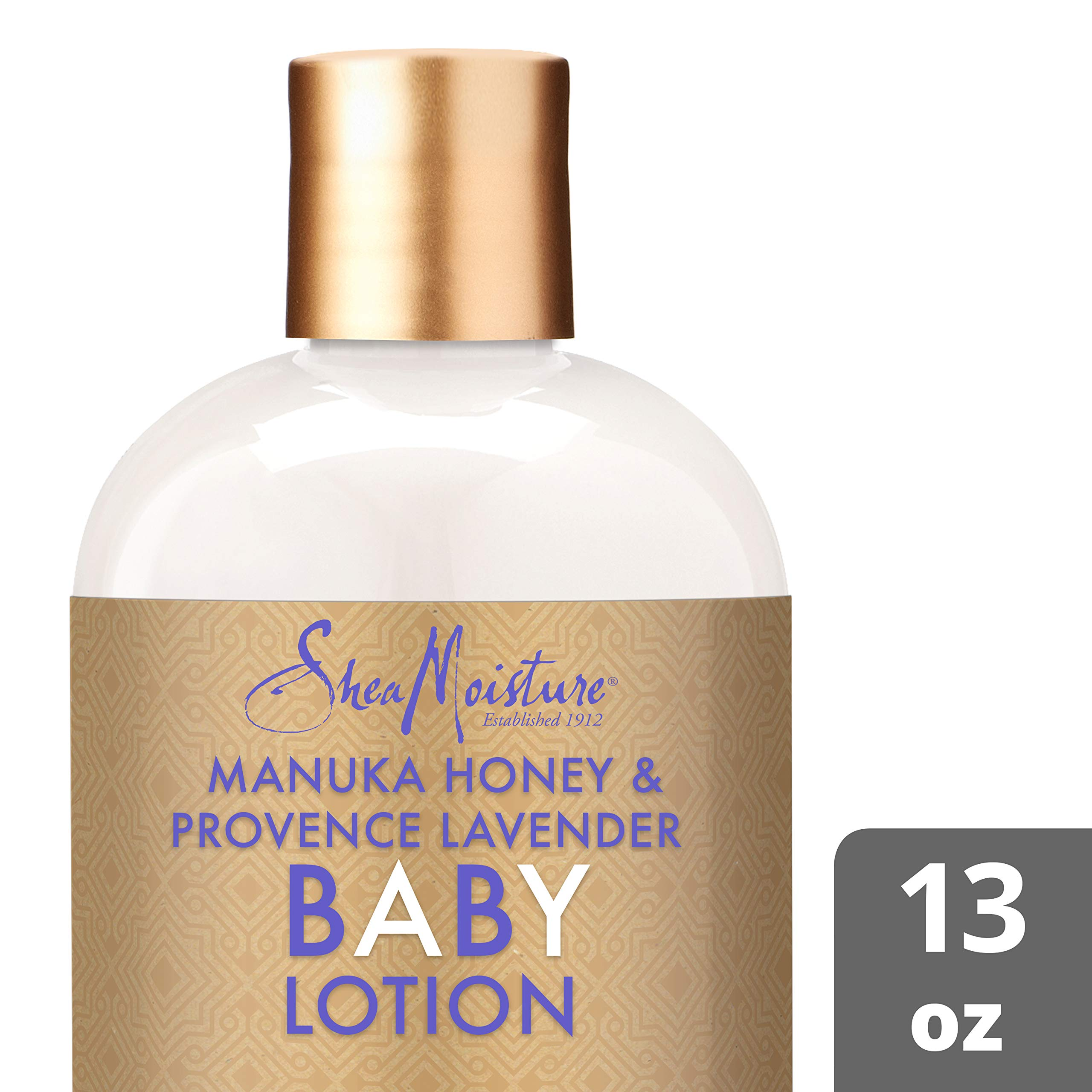 Shea Moisture Manuka Honey and Provence Lavender Baby Nighttime Soothing Lotion By Shea Moisture for Kids Body Lotion, 13 Ounce by Shea Moisture