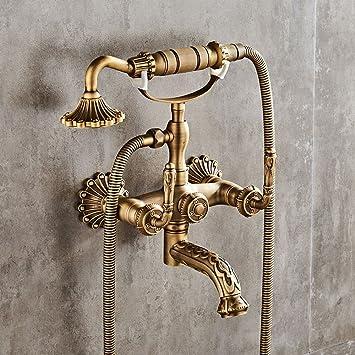 Sadasd Im Europäischen Stil Badezimmer Waschbecken Wasserhahn Kupfer