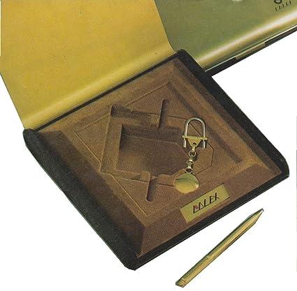 Lalex - Juego de bolígrafo y llavero y agenda telefónica de ...