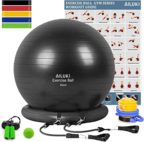 AILUKI Yoga Ball