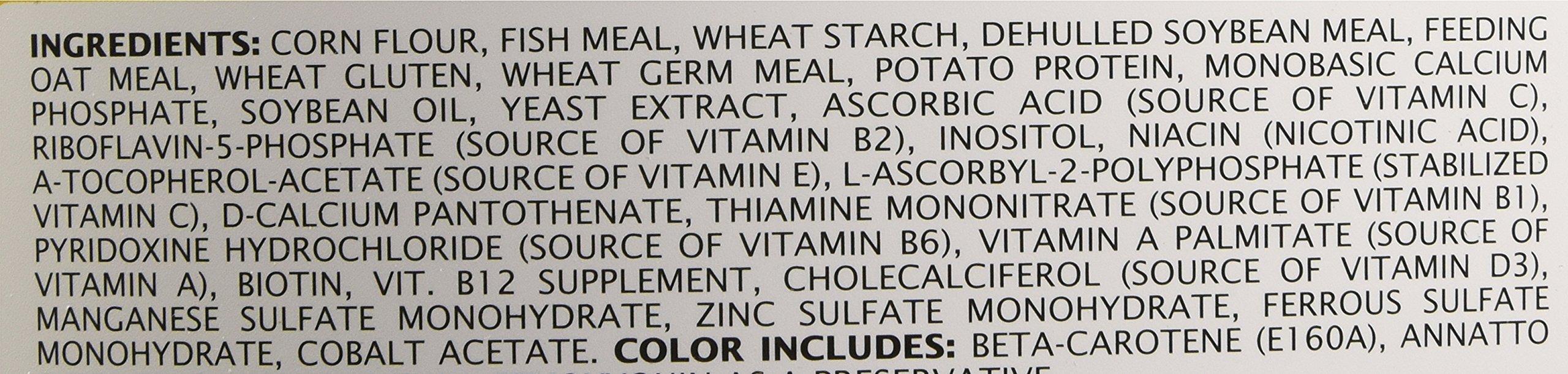 Tetra Pond Koi Vibrance Premium Nutrition with Color Enhancers