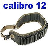 CARTUCCERA Calibro 12 per 26 CARTUCCE CARTUCCIERA da Caccia in Cordura
