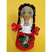 China Poblana, muñeca de trapo, juguetes handmade by Arteté ®