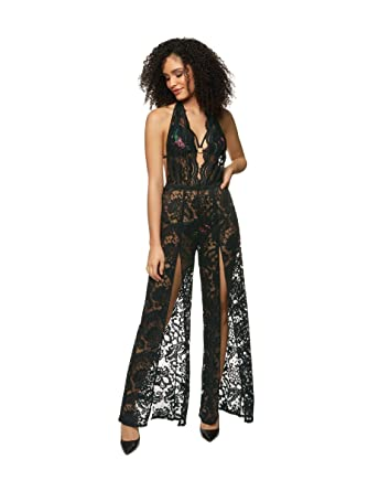Ann Summers Womens Cabana Jumpsuit Deep Plunge Neck Sexy Cover Up Beachwear  Black XXL  Amazon.co.uk  Clothing c47bec451