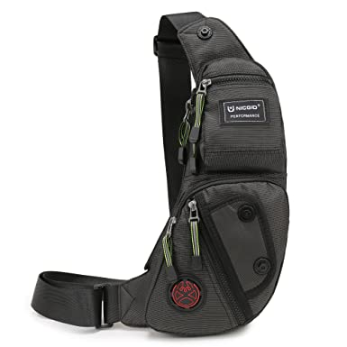 Amazon.com | Nicgid Sling Bag Chest Shoulder Backpack Fanny Pack ...