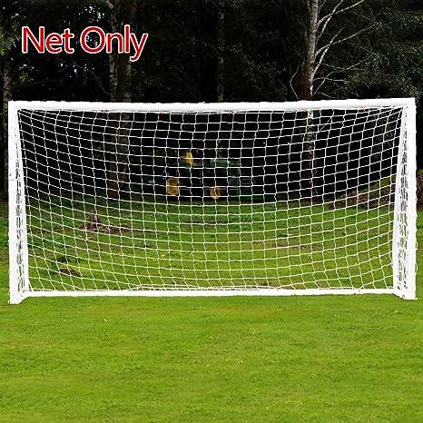 6x4 8x6 12x6 24x8 Football Net Soccer Goal Post Nets Full Size Sports Training Sports Netting Team Sports