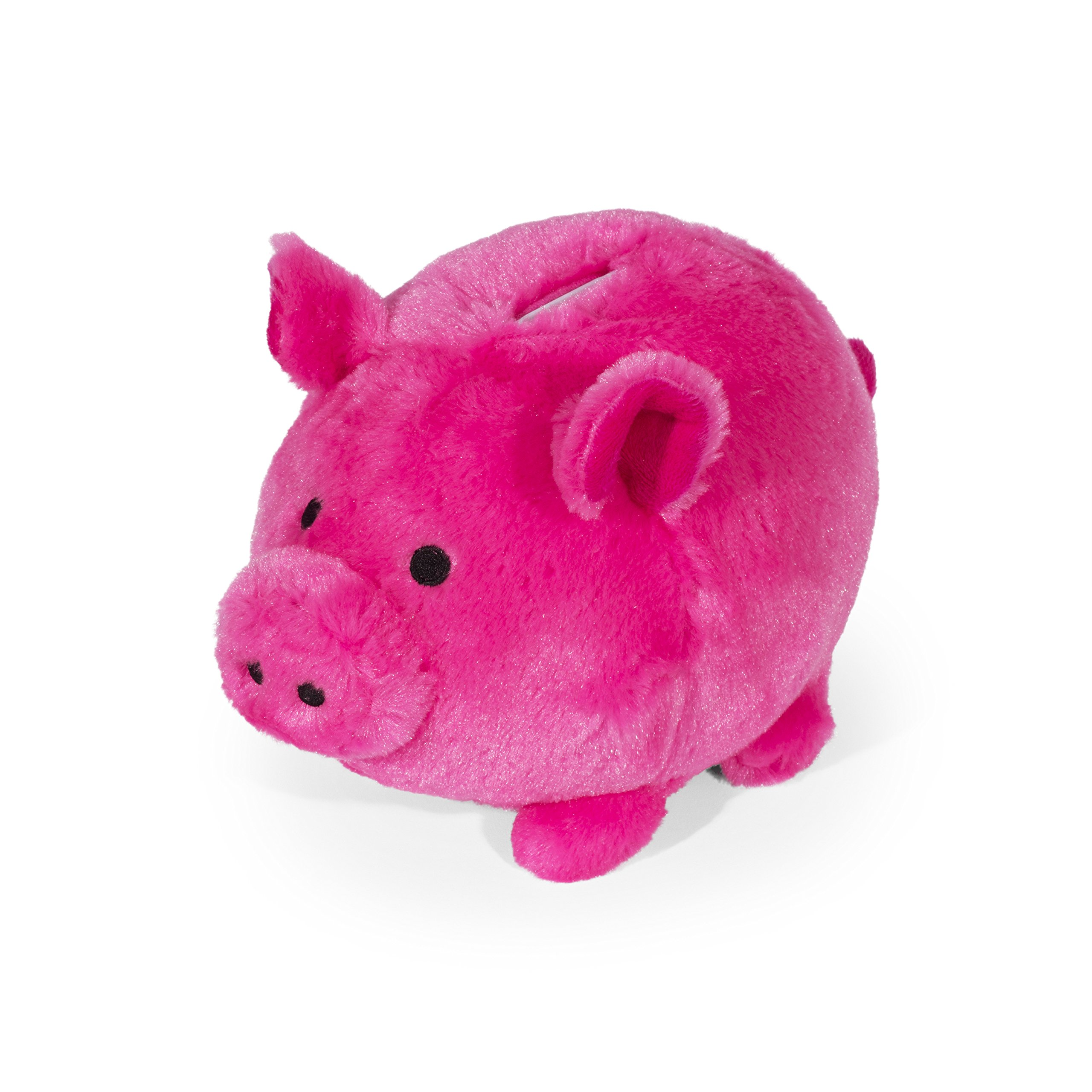 Jumbo Plush Hot Pink Piggy Bank