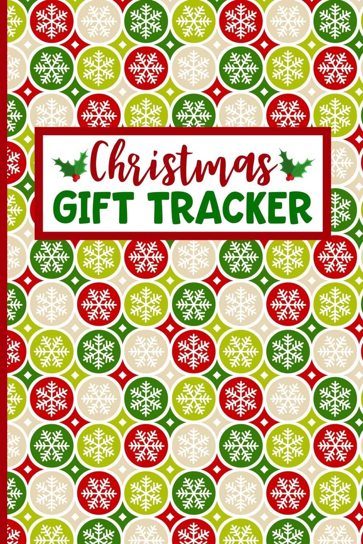 Christmas List Organizer.Christmas Gift Tracker Holiday Shopping List Organizer For