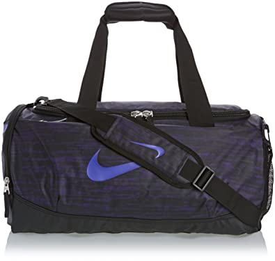 8d66292d5ec4 Amazon.com  New Nike Team Training Max Air Graphic Small Duffel Bag Court  Purple Black Hyper Grape  Shoes