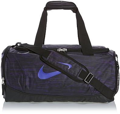 New Nike Team Training Max Air Graphic Small Duffel Bag Court Purple Black  Hyper 67d4e57adb3ae