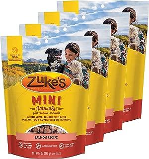 product image for Zuke's Mini Naturals Dog Treats Salmon Recipe 6 oz 4 Pack