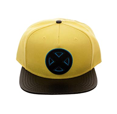 2b60eb929fcea Bioworld Men s X-Men - Marvel Comics - Carbon Fiber Snapback Hat O S