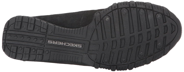 Skechers Relaxed Fit Schuhe Bikers Passant Damen Walking Schuhe Fit schwarz Suede Relaxed 421257