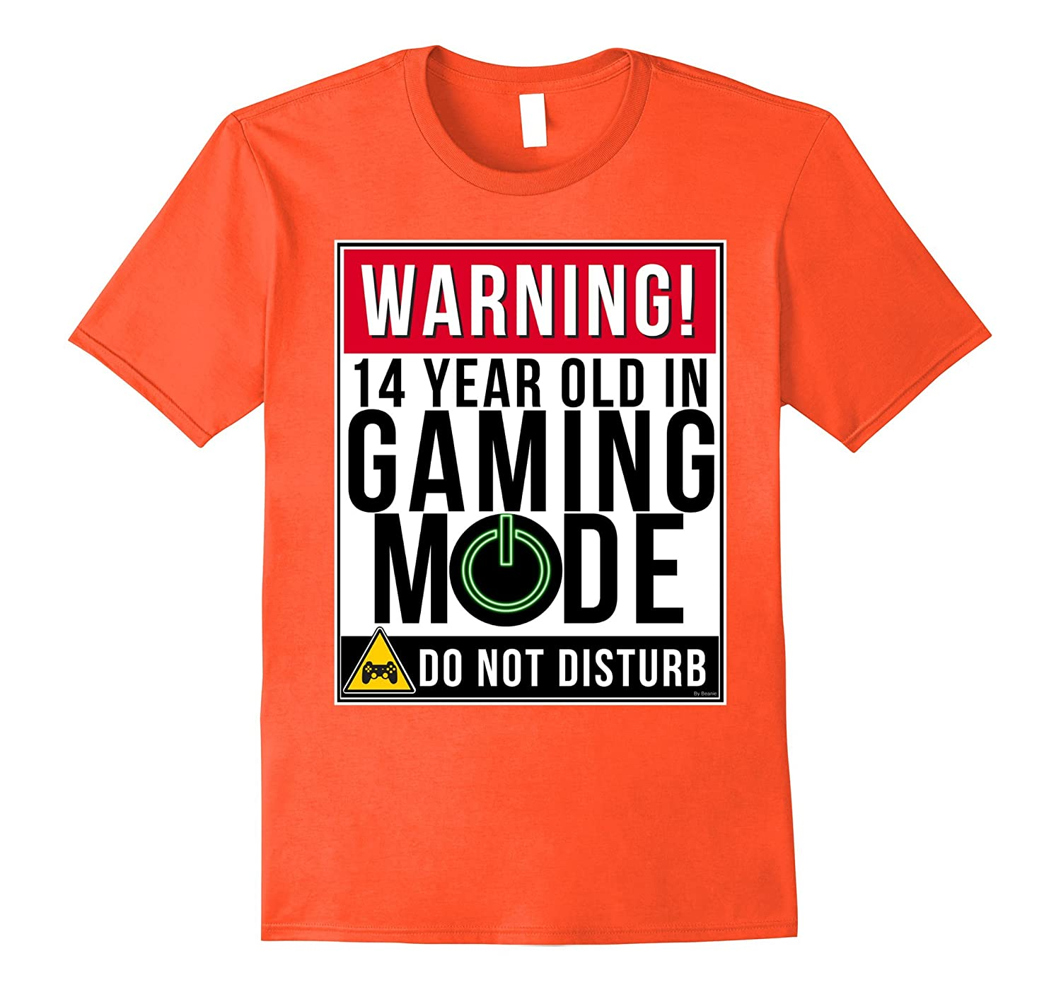 14th Birthday Shirt For 14 Year Old Gamers Tee Teens TH