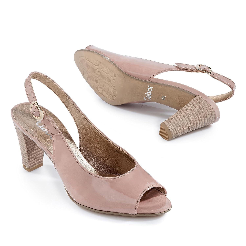 Gabor Schuhes Schuhes Gabor Damen Fashion Sandalen Rosa b59b1a