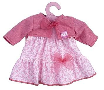 Nenuco Ropita con Percha 35cm, Vestido Rosa (Famosa 700012823), Color