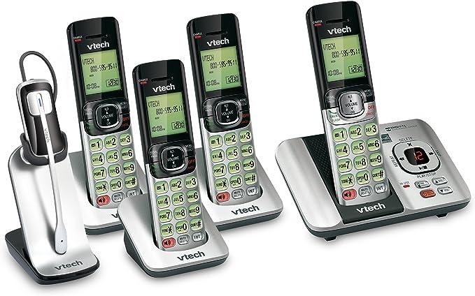 Vtech 4 Terminal DECT 6.0 – con teléfono Inalámbrico (1) CS6529 – 4 sistema de teléfono y (1) is6200 móvil: Amazon.es: Electrónica