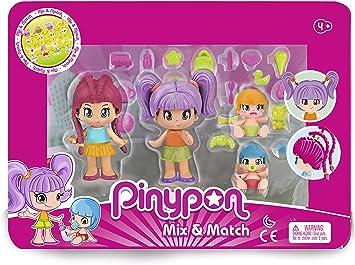 Amazon.es: Pinypon- Pack 4 Figuras New Look, a Partir de 4 años ...