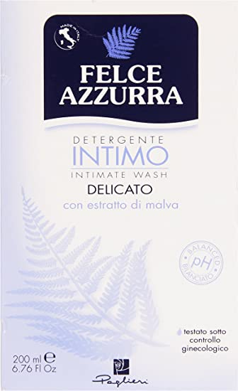 Amazon.com : Felce Azzurra Intimate Hygiene Delicate Liquid Soap (classic) 200ml : Bath Soaps : Beauty