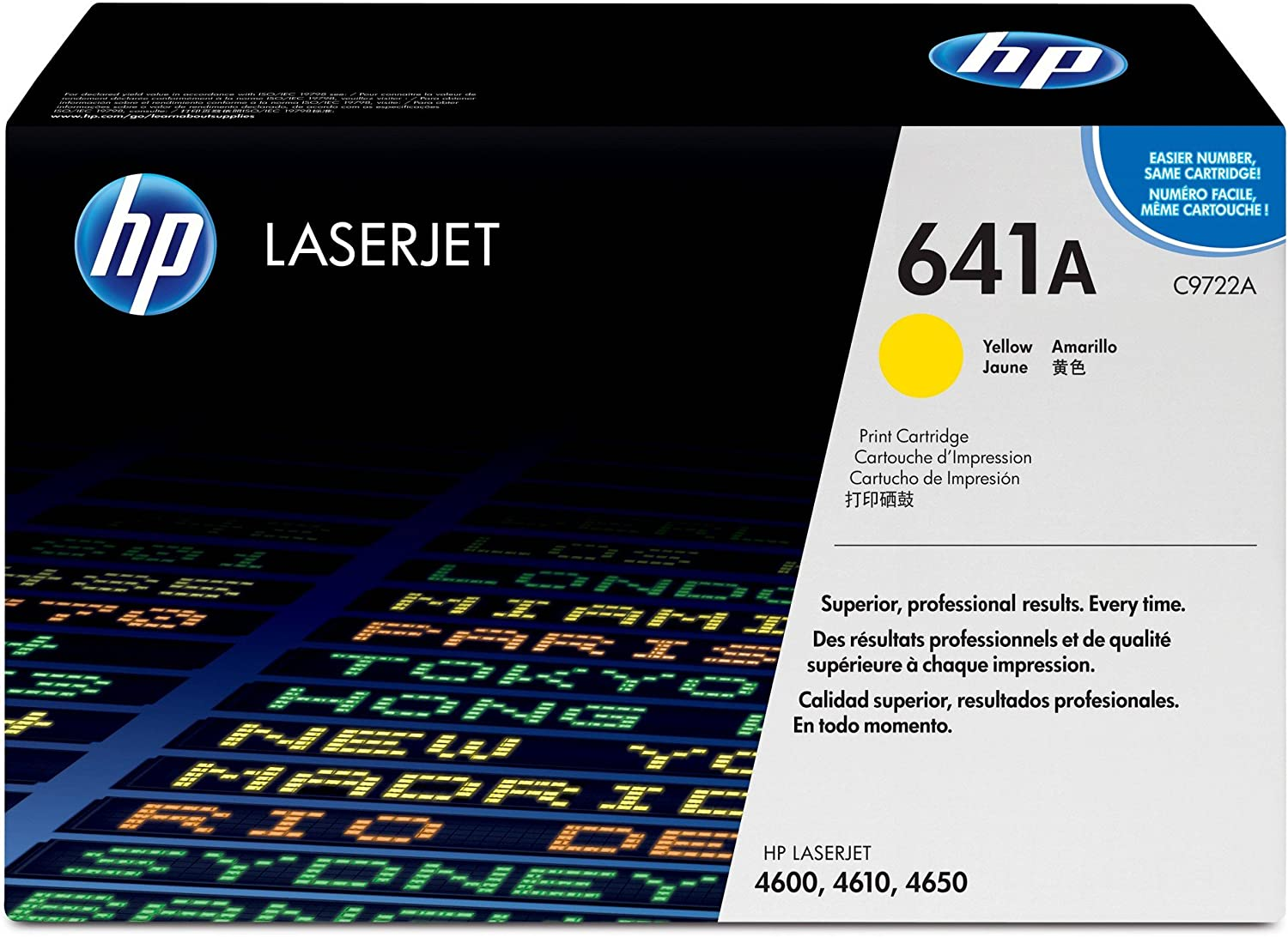 HP 641A | C9722A | Toner Cartridge | Yellow