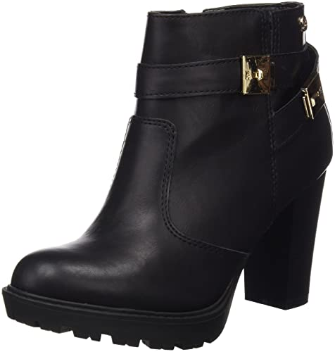Xti Botin Sra C. 46055, Zapatos De Tacón, Mujer, Negro (Negro), 40