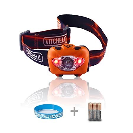 Review VITCHELO V800 Headlamp with