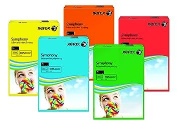 Xerox Symphony 003R94231 - Papel de colores para impresora y ...