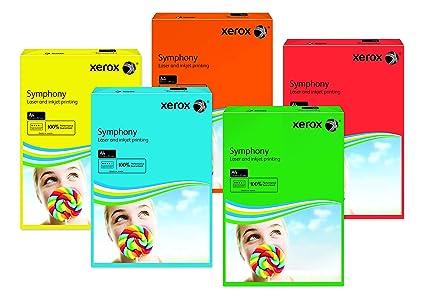 Xerox 003R94230 - Papel de impresión de color, Symphony, Din ...