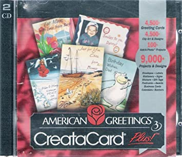 Amazon american greetings creatacard 3 plus windows 95 98 american greetings creatacard 3 plus windows 95 98 m4hsunfo