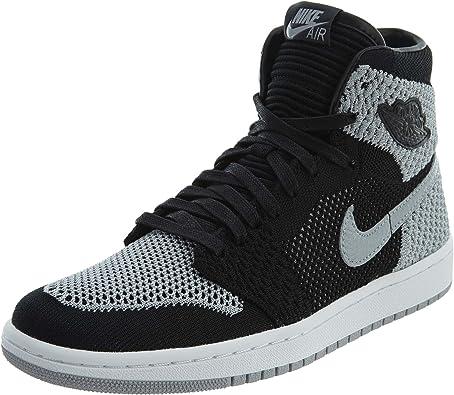 Nike Air Jordan 1 Ret Hi Flyknit BG, Chaussures de Fitness Homme