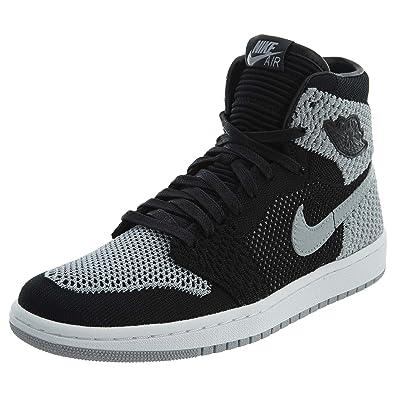 53717ae503eb Amazon.com  NIKE - Air Jordan I Retro High Flyknit GS - 919702003  Shoes