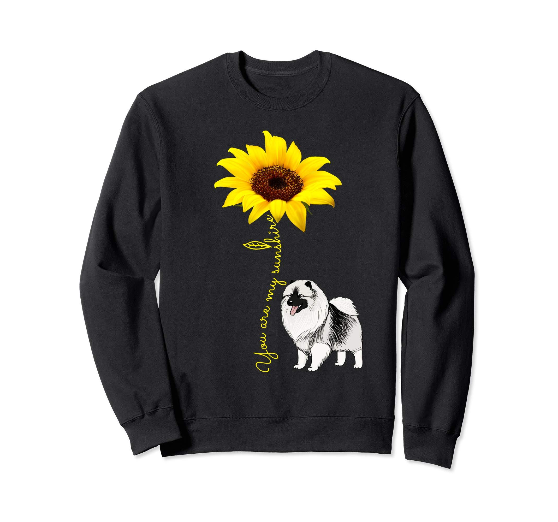 Keeshond Mom Gift - Dalmatian My Sunshine Sunflower Sweatshirt 1