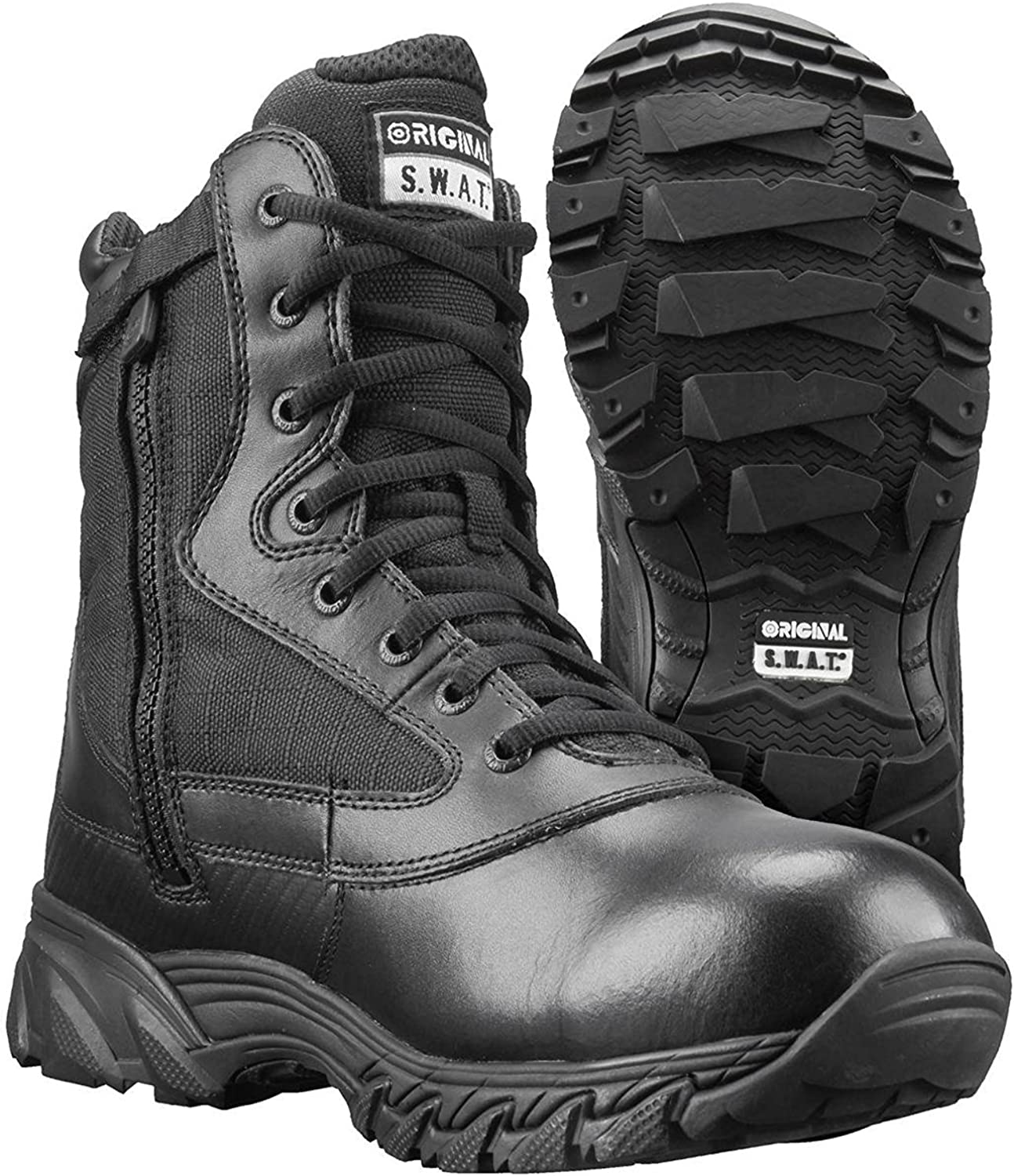 "Original S.W.A.T Mens HydroGuard Metro Air 9/"" Waterproof Side-Zip Tactical Boot"