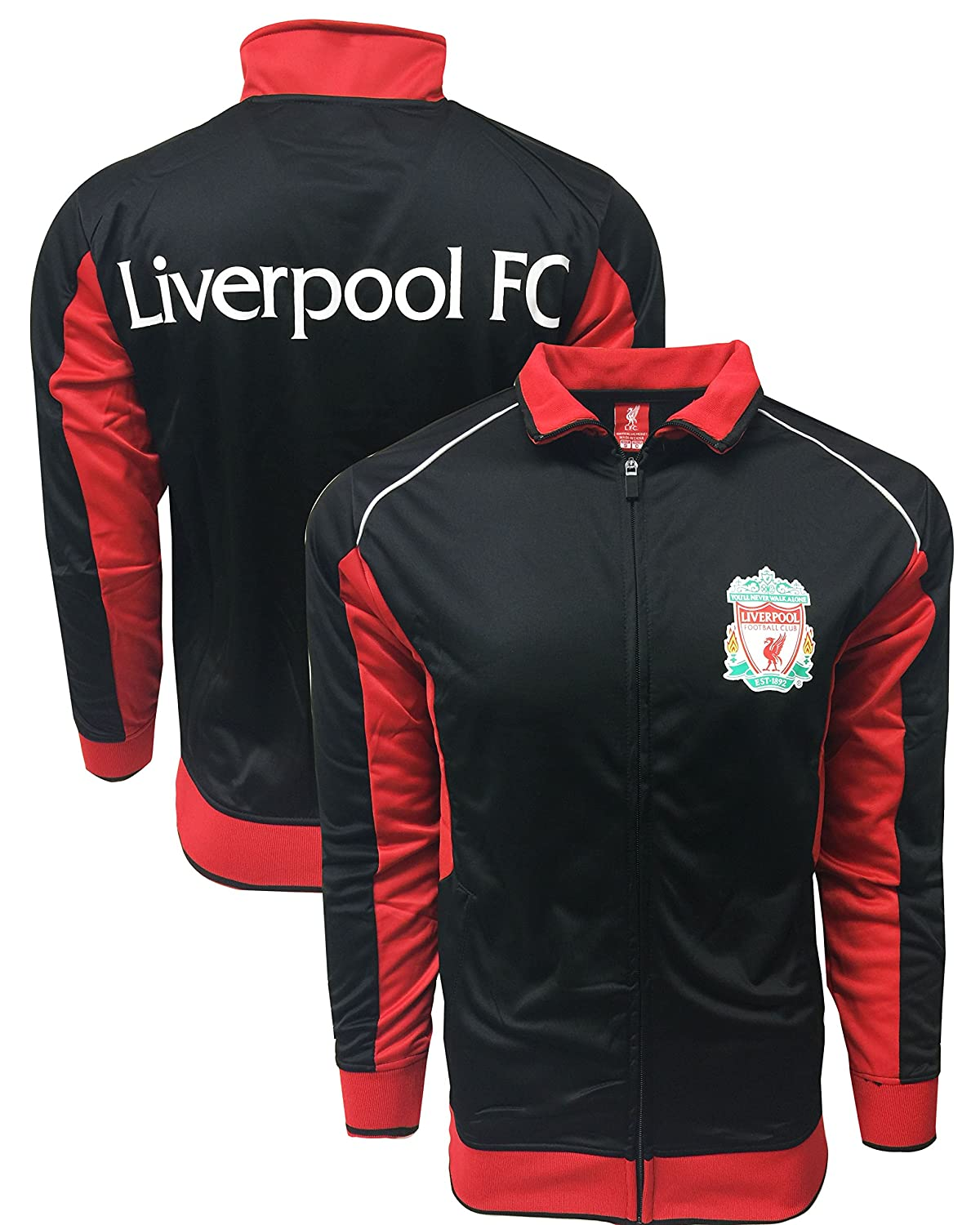 Rhinox APPAREL ボーイズ Youth Small 4-6 years Liverpool Red/Black B07FPSSQSB