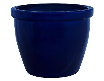 Pot De Fleurs Cache Pot Pot Cache Pot Venus Ii 19 X 15 Cm Bleu