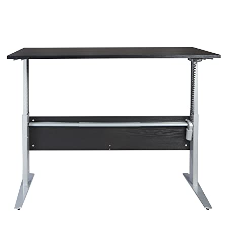 Amazon.com: Tvilum 80400/3186103 Pierce Height Adjustable Desk ...